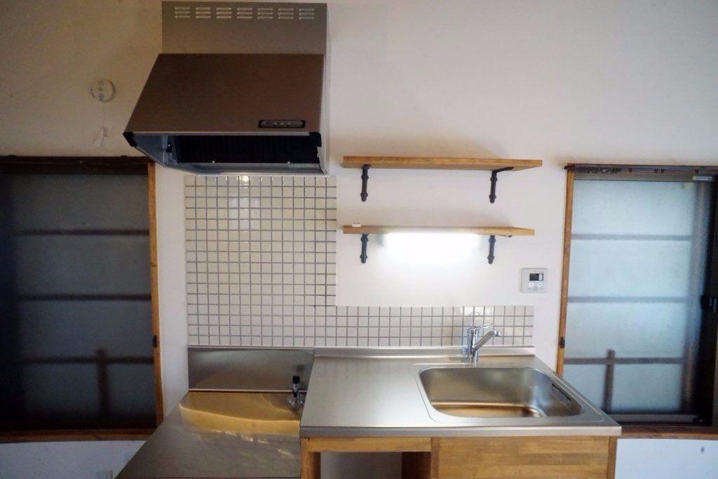 使いやすいオリジナルキッチン