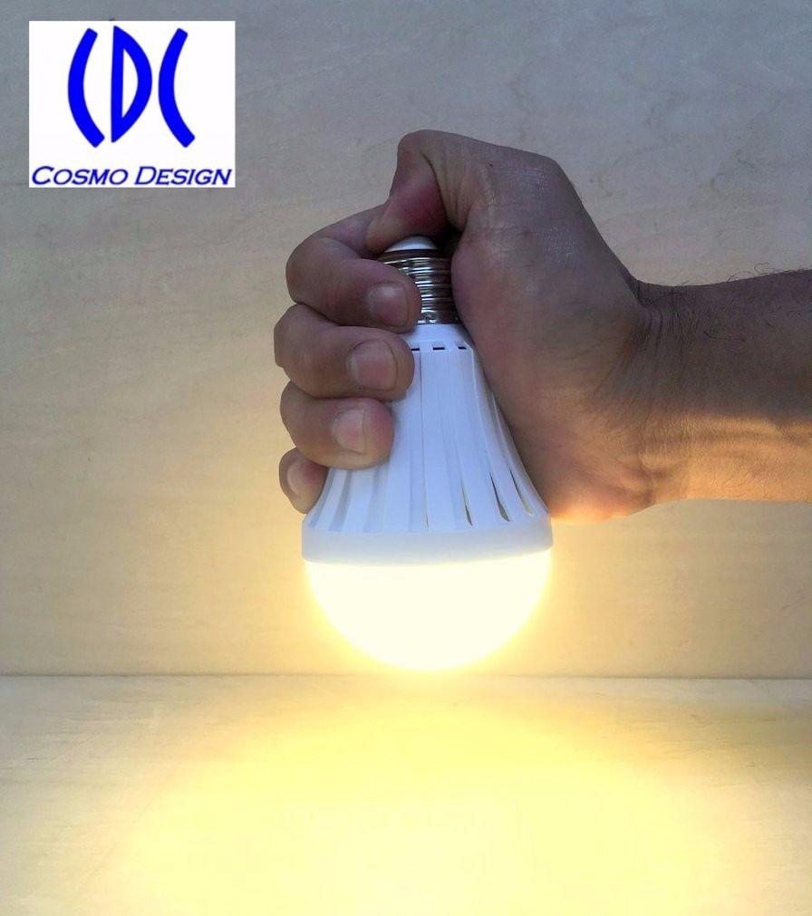 コスモデザイン社 CJYJQ-9W-1.5H42-30K 電池内蔵型LED電球