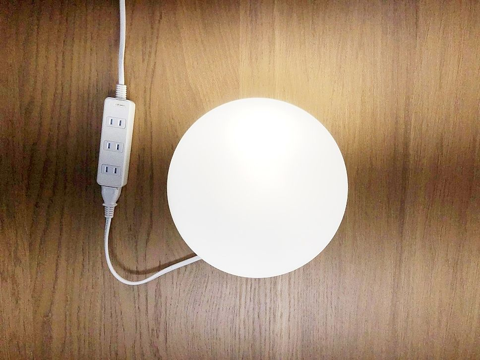 高出力電池内蔵LED保安円型器具