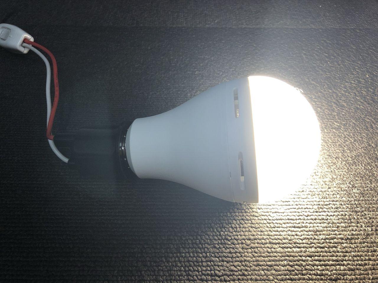 新製品サンプル【2000lmのLED電球】