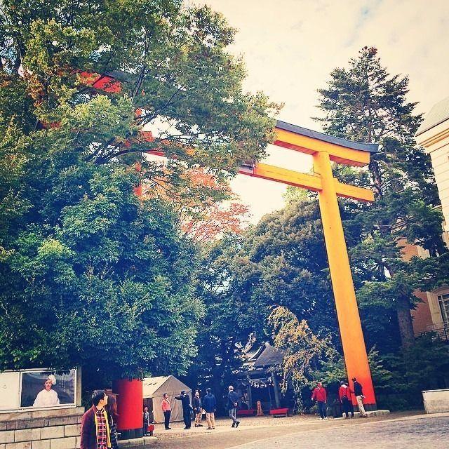 川越の総鎮守 氷川神社