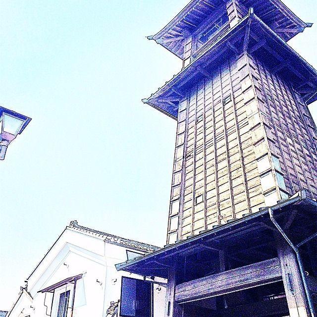 小江戸川越のシンボル 時の鐘